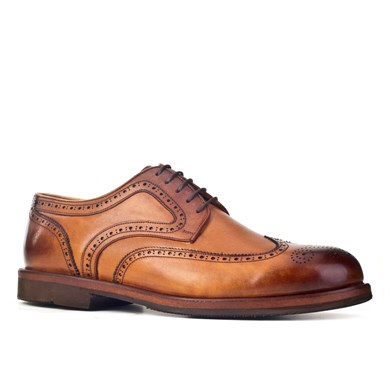 Cabani Patterned Oxford Mens Shoes 583171